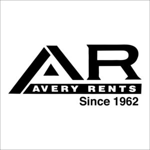 Avery Rents logo | Tools, tents, equipment, trunk rental in Bellevue and greater Omaha.