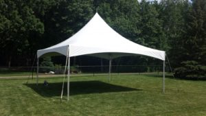 HIGHPEAK-STAKED Canopy 20x20 | Avery Rents Party Supplies Omaha and Bellevue
