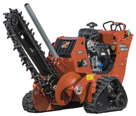 Ditch Witch Trencher | Avery Rents Power Tools and equipment in Omaha and Bellevue