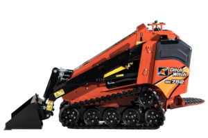 Ditch Witch small skid loader | Avery Rents skid loaders in Omaha and Bellevue
