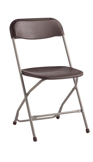 Samsonite black folding Chair  Avery Rents Party Supplies Omaha and Bellevue