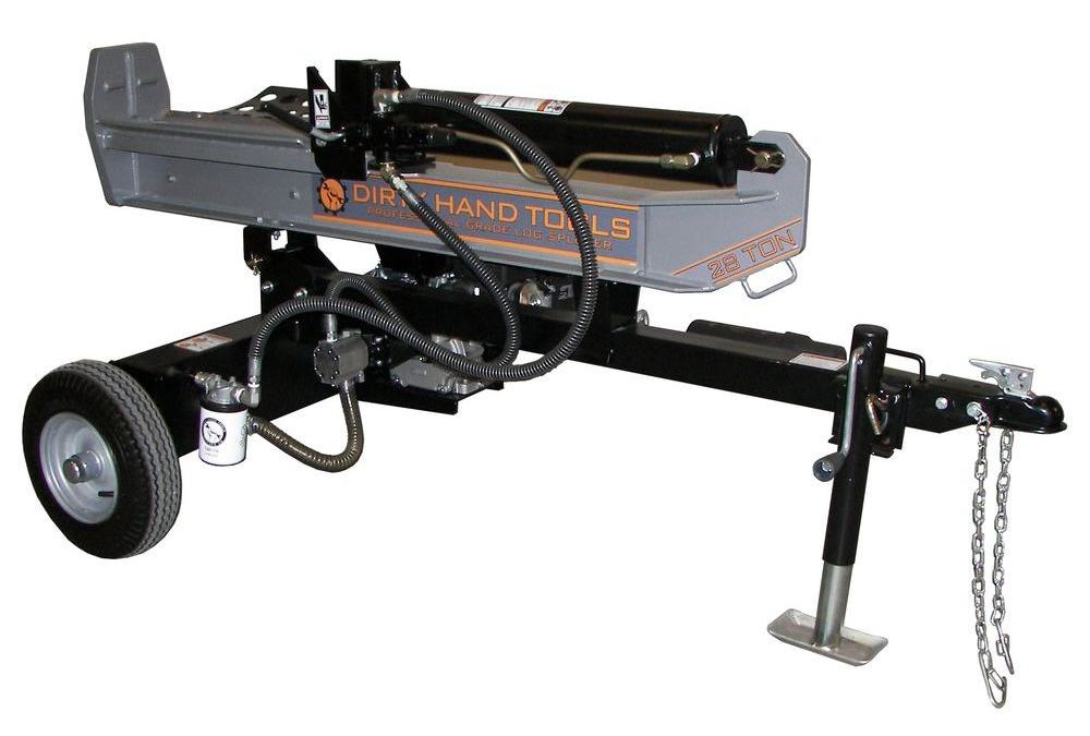 Dirty Hand Tools log splitter   Avery Rents log splitters in Omaha and Bellevue
