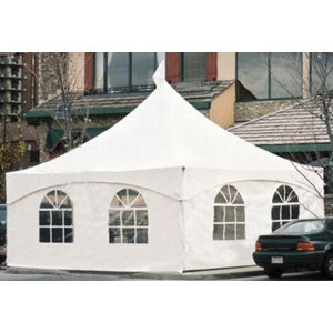 Web Peek Marquee Tent with window sides | Avery Rents Tents and party supplies in Omaha and Beelvue